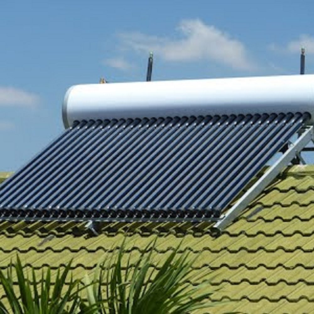 solar-powered water heaters
